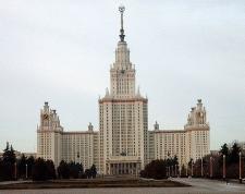 Главное здание МГУ - высотка на Ленинских горах