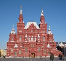 Здание МГУ на Красной площади - ныне это Исторический музей