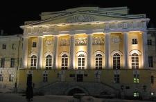 Здание МГУ на Моховой - факультет журналистики